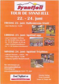 Tour de Synnfjell invitasjon 2012