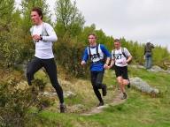 Sindre Grøstad, totalvinner m19/20 – Tormod Stikkbakke og Anders Bjeglerud Klemoen. Foto: Torolf Celius