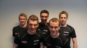 Trygve, Morten, Gisle, Kristian og Svein Halvor