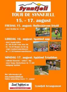 Invitasjon Tour de Synnfjell
